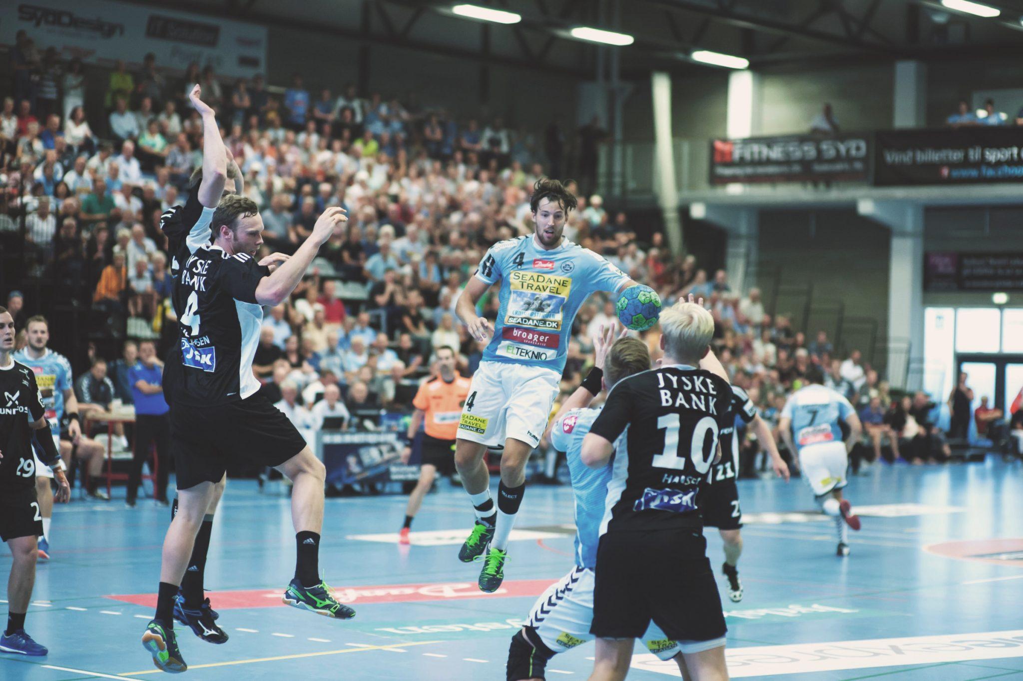 Håndboldkamp i Skansen
