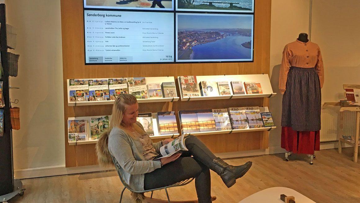 Visit Sønderborg tourist office
