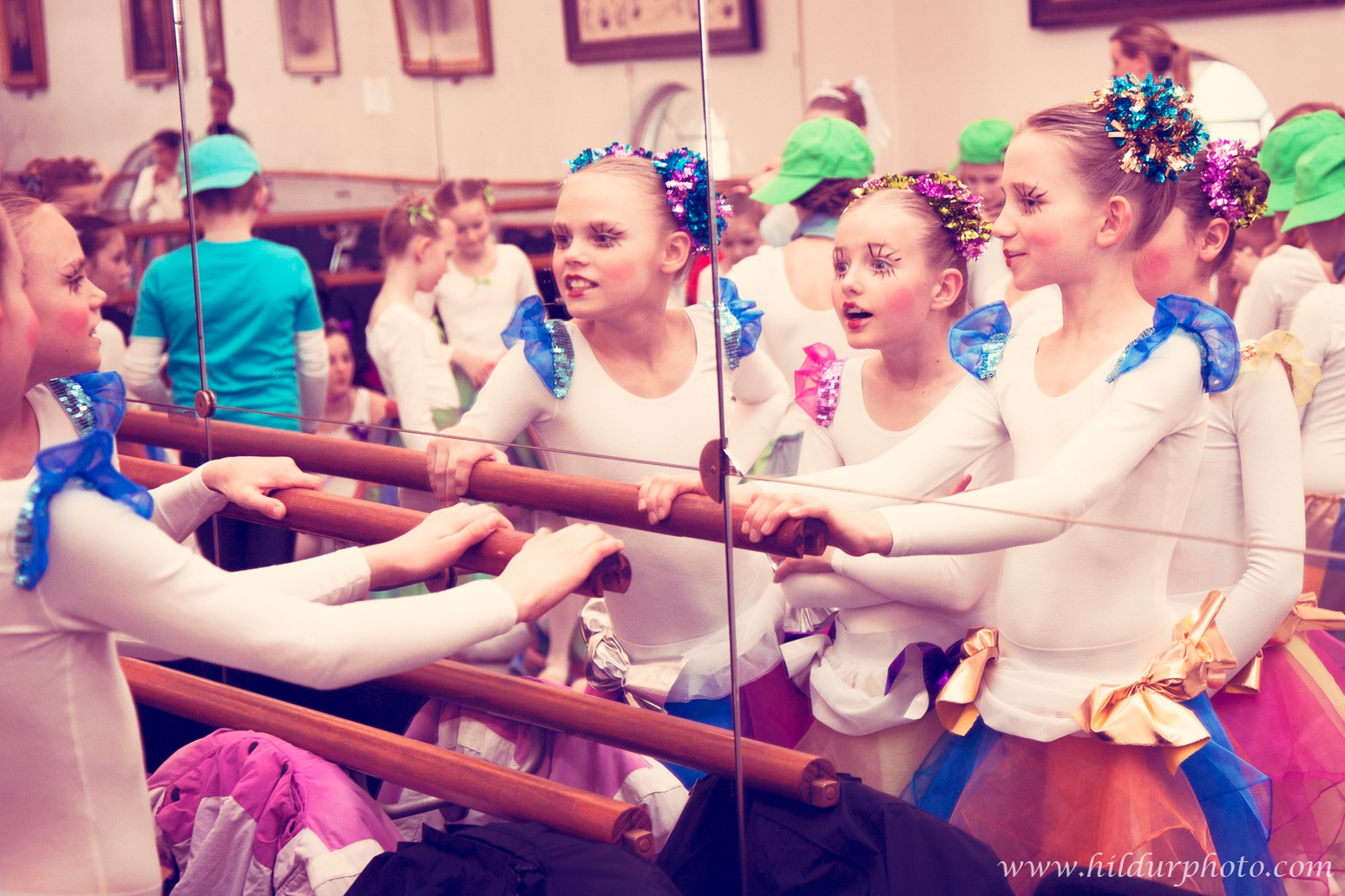 Ballerinas at The Dance Academy of Southern Jutland