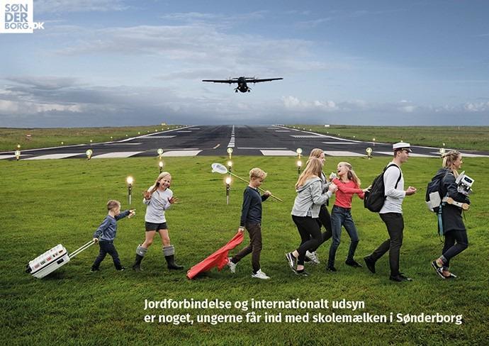 Startbane, fly og mennesker