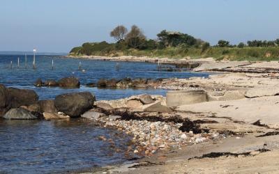 Badning frarådes ved Sønderkobbel Strand