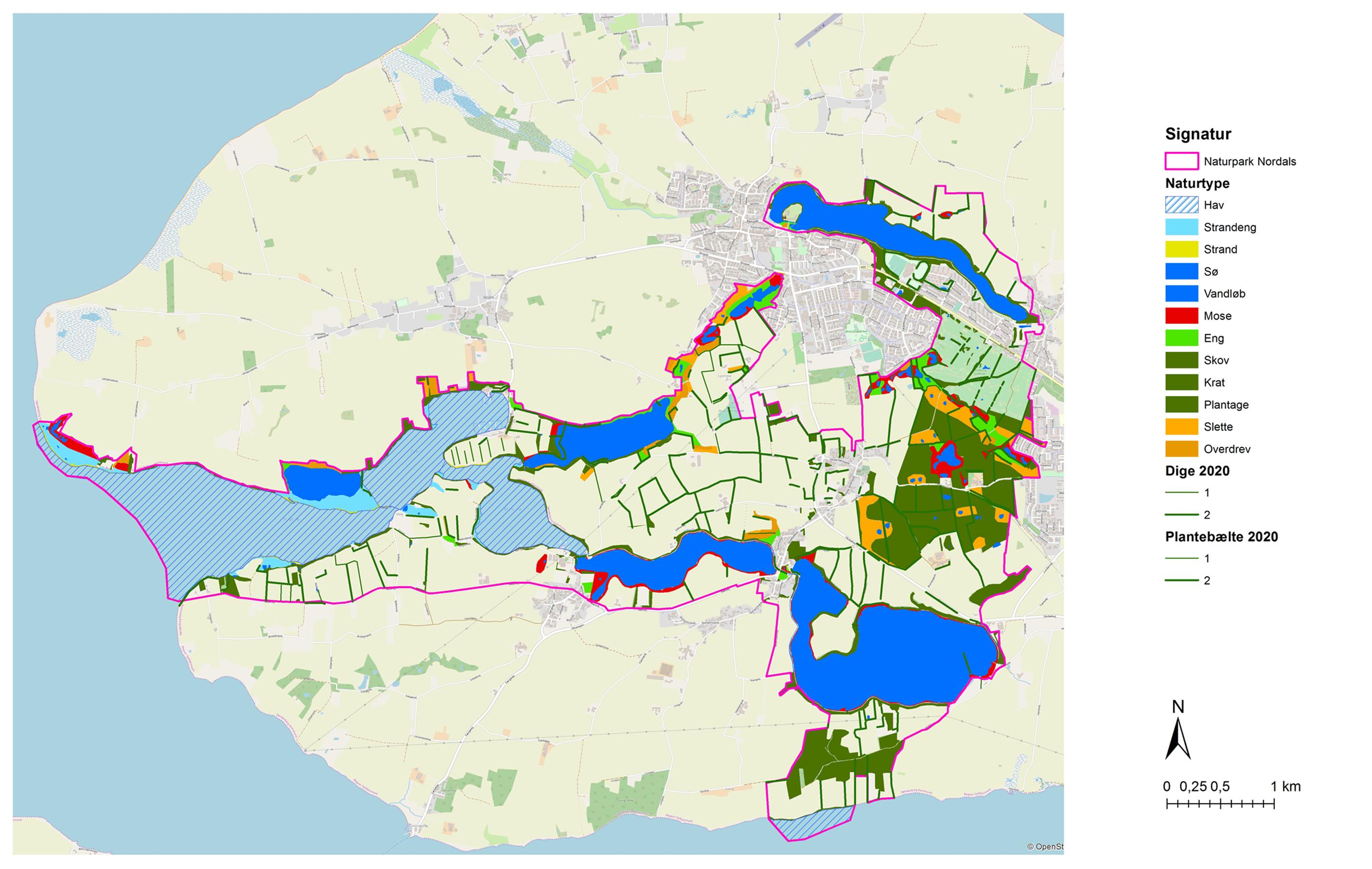 Naturlandskabkort
