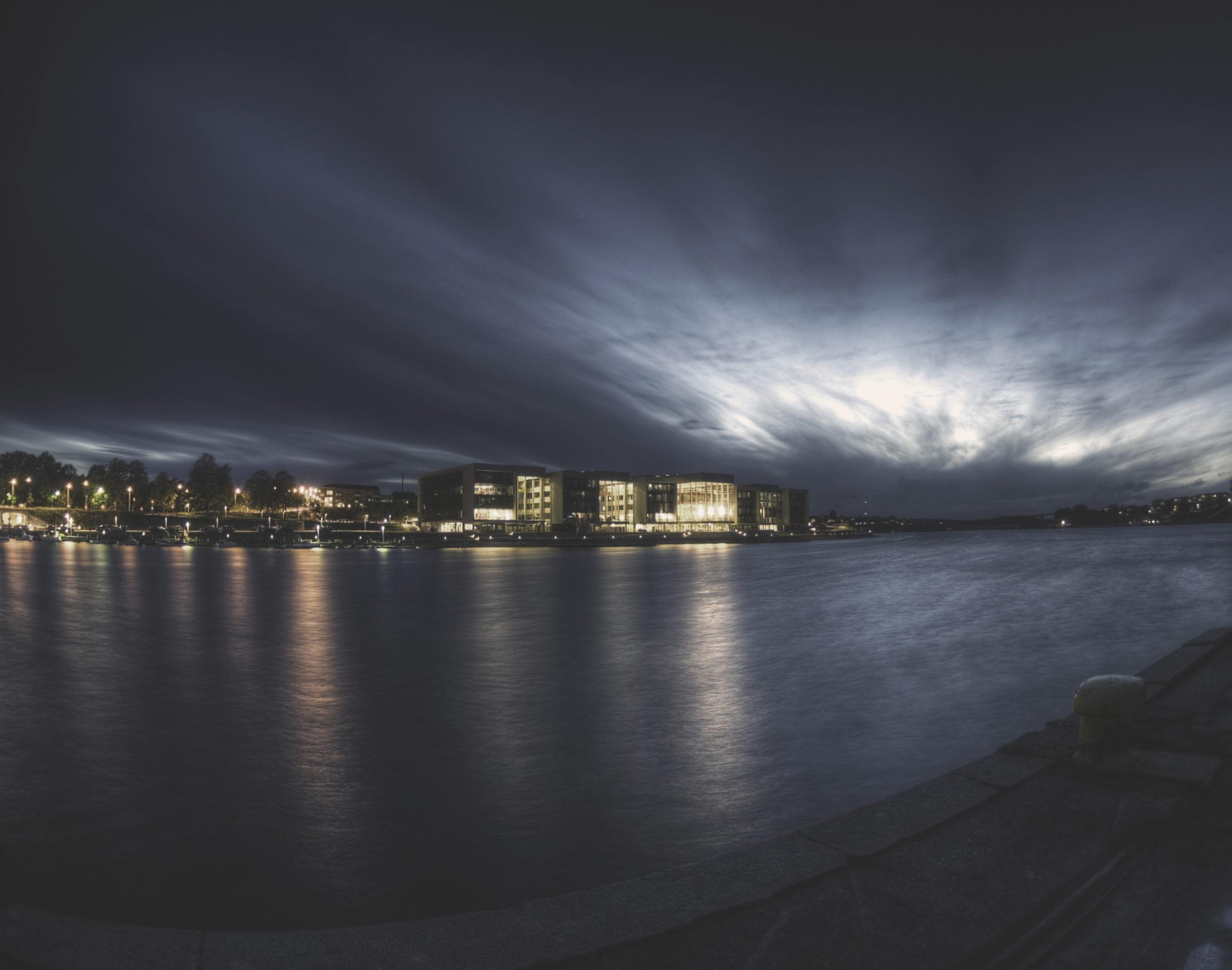 Alsion by night